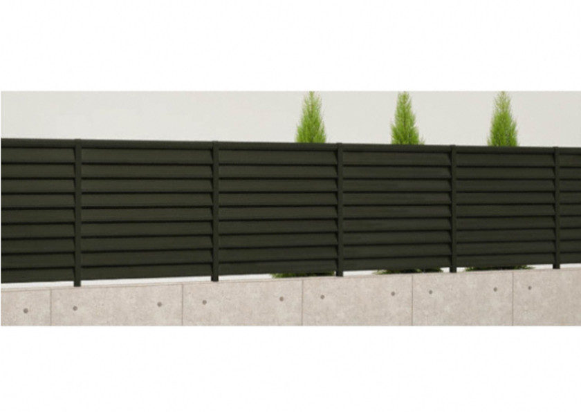 フェンス サニーブリーズA型施工見本画像