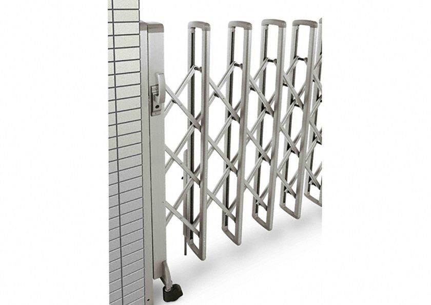 1型片開きトリプルパンタタイプ伸縮ゲート 基本見本図 YKKAP
