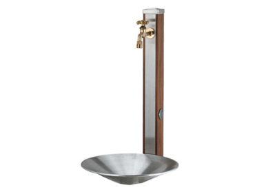 立水栓スプレスタンド70(蛇口1個)施工見本画像01
