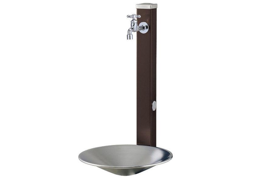 立水栓スプレスタンド70(蛇口1個)施工見本画像02