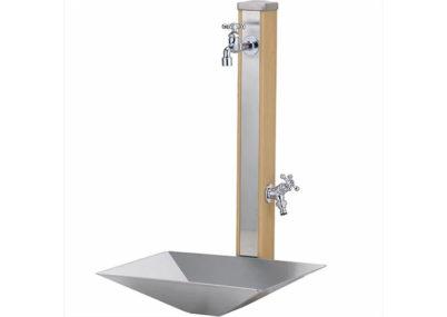 立水栓スプレスタンド70(蛇口2個)施工見本画像02