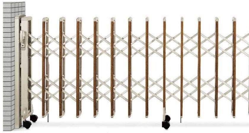 YKKAP 2型レイオス ゲート拡大画像2