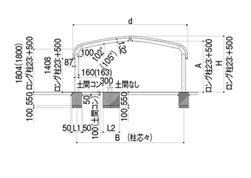 図面画像 M合掌 テールポートシグマIII LIXIL