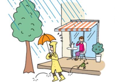 優れた耐雨性能 CR型 手動式 スクリーン付タイプ彩風