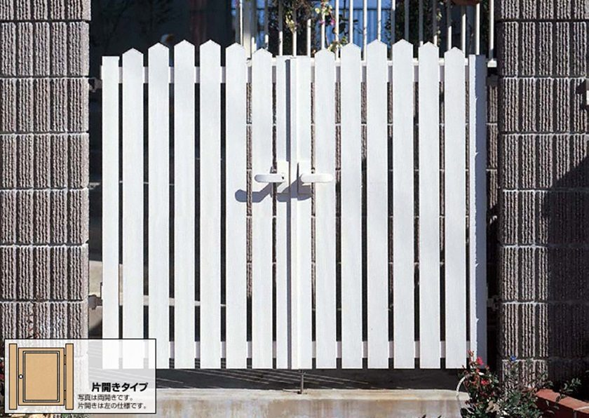 門扉A1型 アメリカン 片開きシンプレオYKKAP