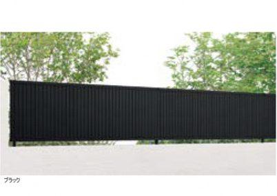 ブラック TM1型 縦目隠しフェンスAB LIXIL