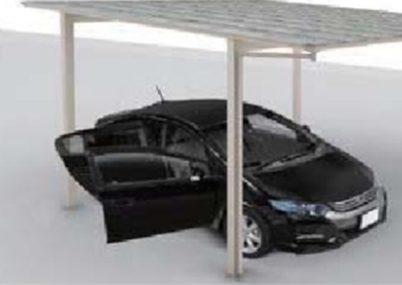 ドアの開閉もラクラクの広い柱間隔