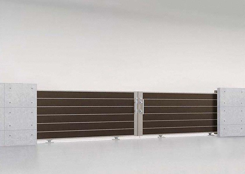 木調 D型 両引き エススライド LIXIL