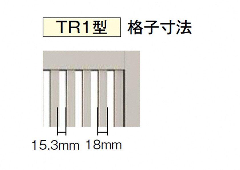 拡大門画像 TR1型 片開き 開き門扉AB LIXIL