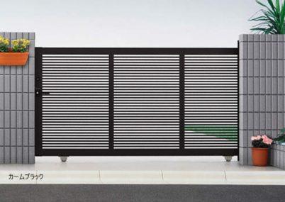 カームブラック 引戸1型 片引きタイプエクスライン YKKAP