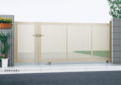 プラチナステン 2型 開き戸付きタイプ エクスライン引戸 YKKAP