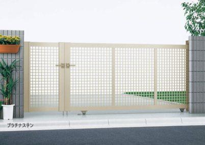 プラチナステン 引戸3型 開き戸付きタイプ エクスライン YKKAP