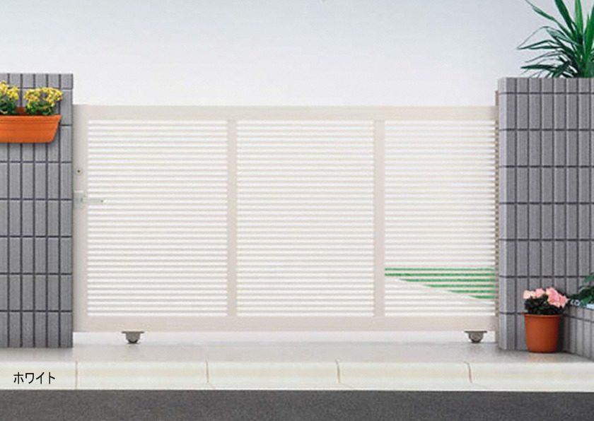 ホワイト 引戸1型 片引きタイプエクスライン YKKAP
