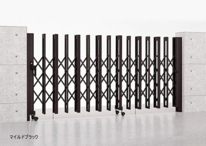 マイルドブラック H型 片開き Aタイプ ノンレール アルシャインII LIXIL