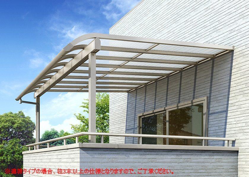 R型 積雪50cm対応 屋根タイプ 連棟 ソラリア YKKAP
