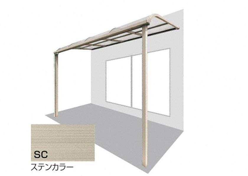ステンカラー 四国化成 バリューテラスE R型 屋根タイプ 単体