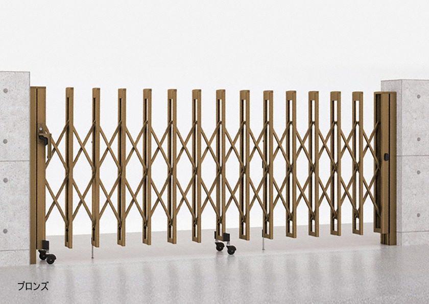 ブロンズ M型 Aタイプ ノンレール 片開き アルシャインII LIXIL