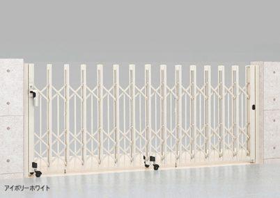 アイボリーホワイト 片開き PG型R Aタイプ ノンレール アルシャインII LIXIL
