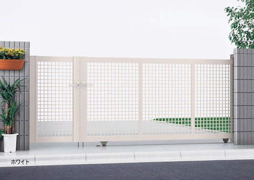 ホワイト 引戸3型 開き戸付きタイプ エクスライン YKKAP
