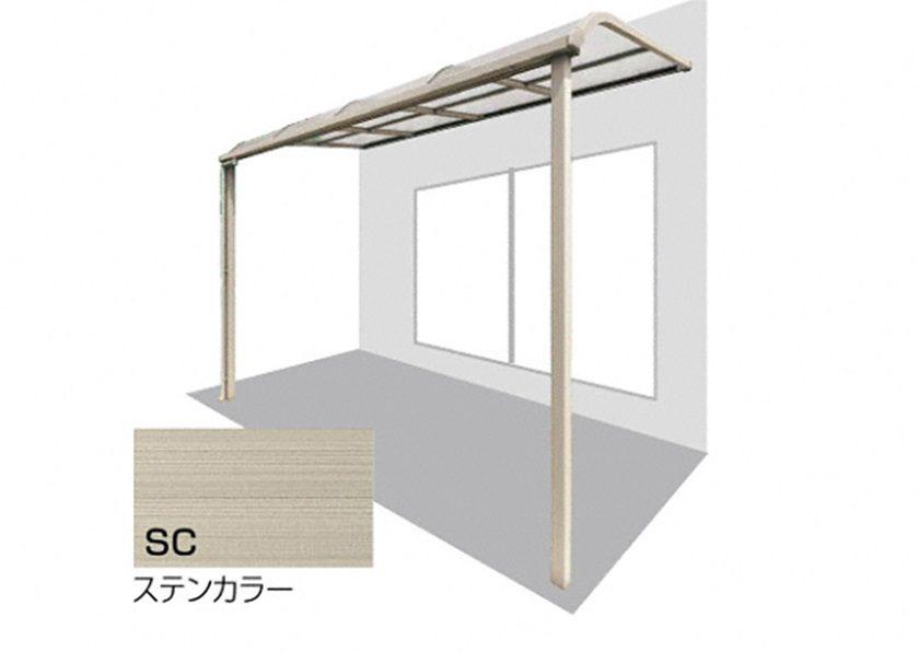 ステンカラー バリューテラスE F型 屋根タイプ 単体 四国化成