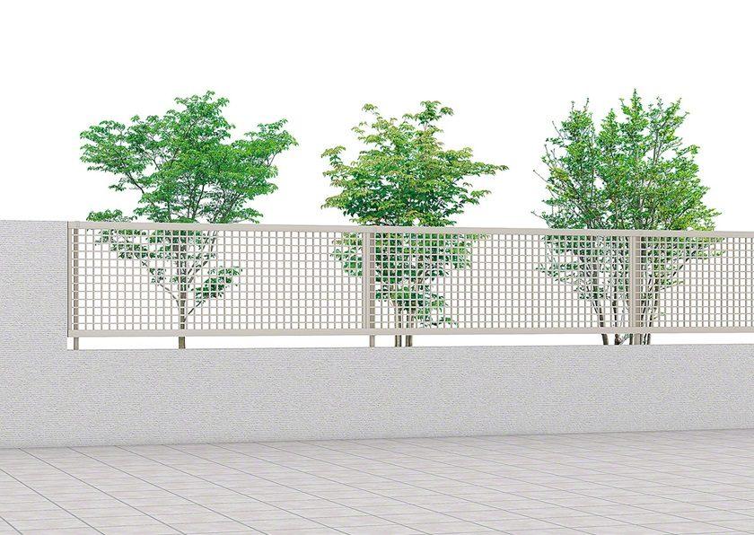 ライシスフェンス 7型 井桁格子 LIXIL