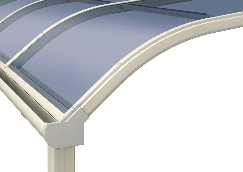 屋根拡大画像 三協アルミ レボリューA R型 屋根タイプ 単体