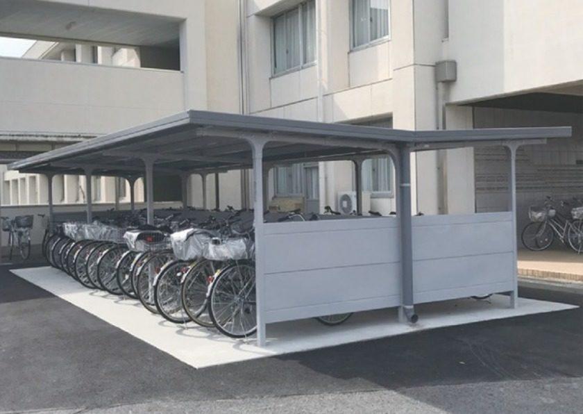 BF背中合わせタイプ 独立タイプ 一般型 イナバ自転車置場