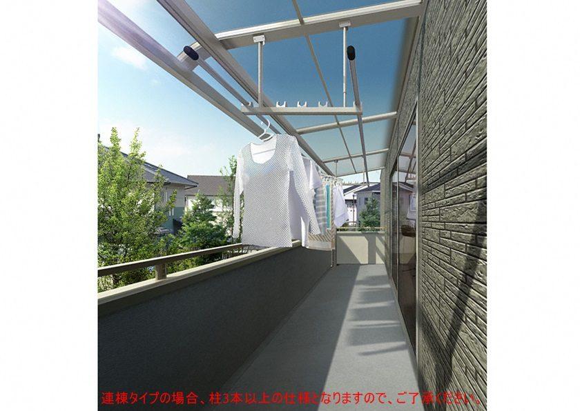 YKKAP ソラリア R型 屋根タイプ 連棟