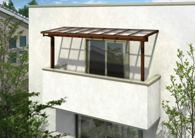 YKKAP サザンテラス (フレーム仕様) 屋根タイプ 単体