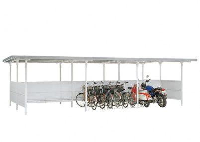 BF棟合わせタイプ 3連続タイプ 一般型 イナバ自転車置場