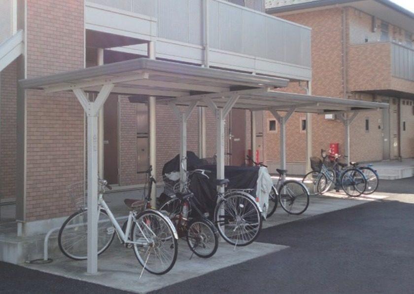 BYNタイプ 独立タイプ イナバ自転車置場 イナバ物置