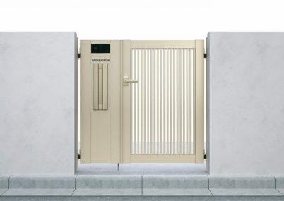 門扉2型 縦格子 片開きシンプレオ YKKAP