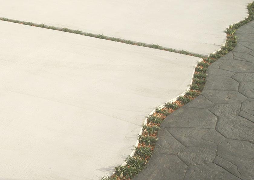 デザイン性も高い土間打ち工事例1