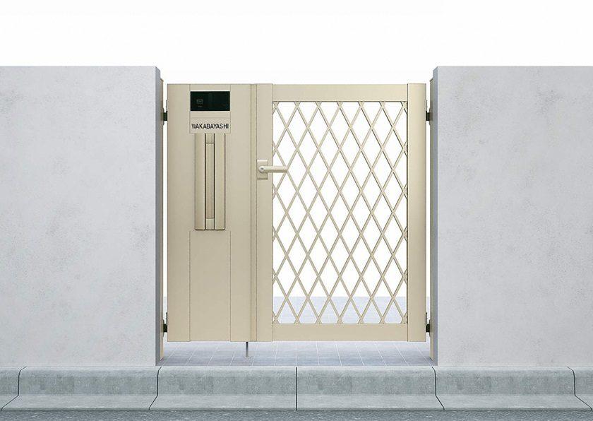 門扉8型 ラチス格子 片開き シンプレオYKKAP