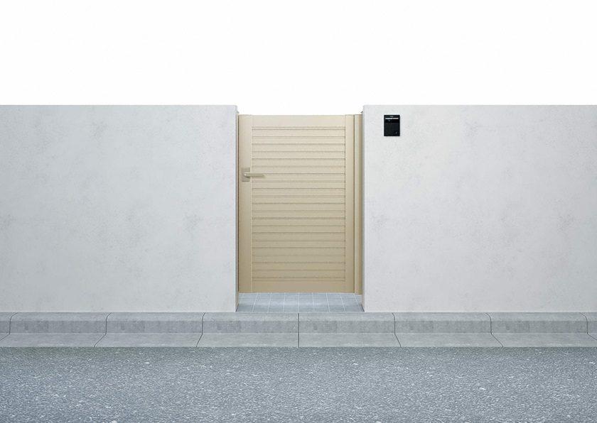 門扉5型 横目隠し 片開き シンプレオYKKAP