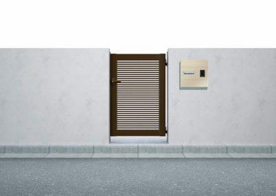 門扉1型 横格子 片開きシンプレオ YKKAP
