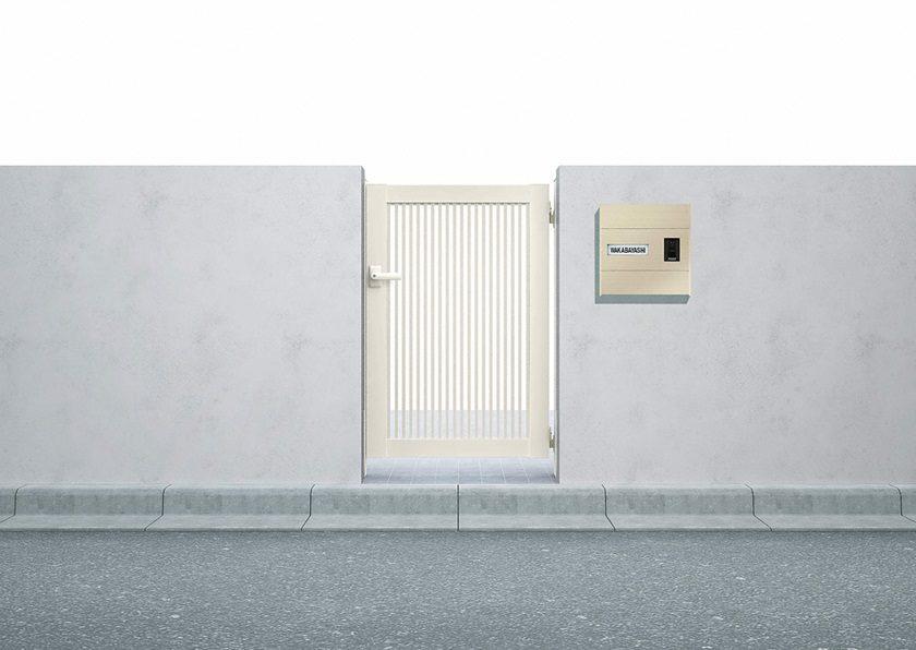 門扉2型 縦格子 片開きシンプレオYKKAP