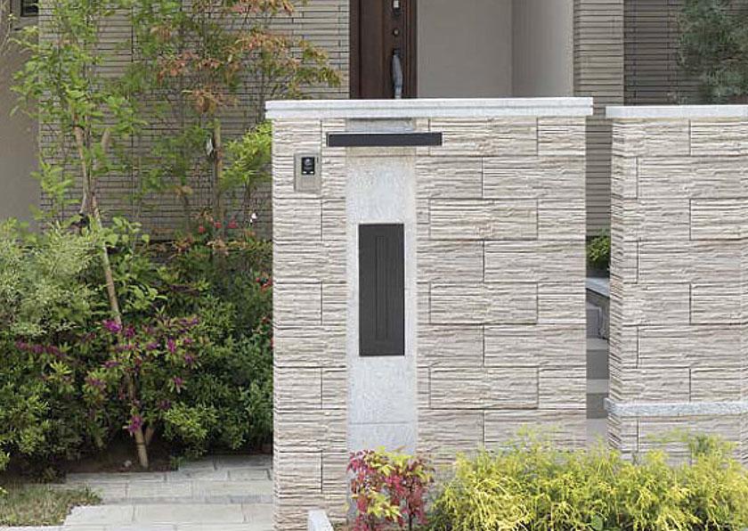 ブロック塀をよりお洒落にするタイル貼り施工