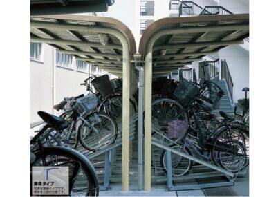 YOCF背合せタイプ 基本棟 一般地用 ヨドコウ ヨド自転車置場