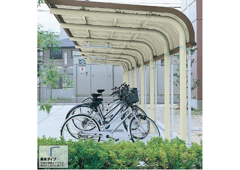 YOCFタイプ 基本棟 一般地用 ヨドコウ ヨド自転車置場