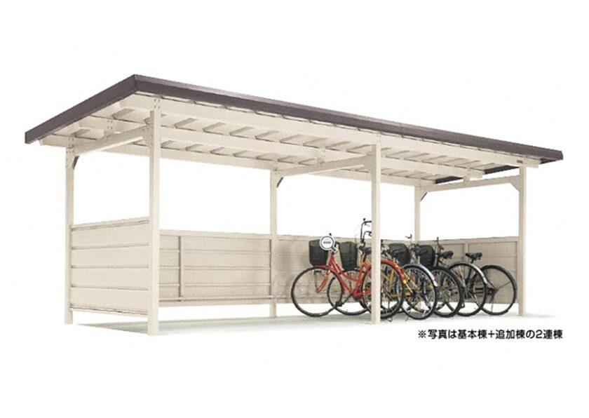 YOKCタイプ 連棟 豪雪地用 ヨドコウ ヨド自転車置場