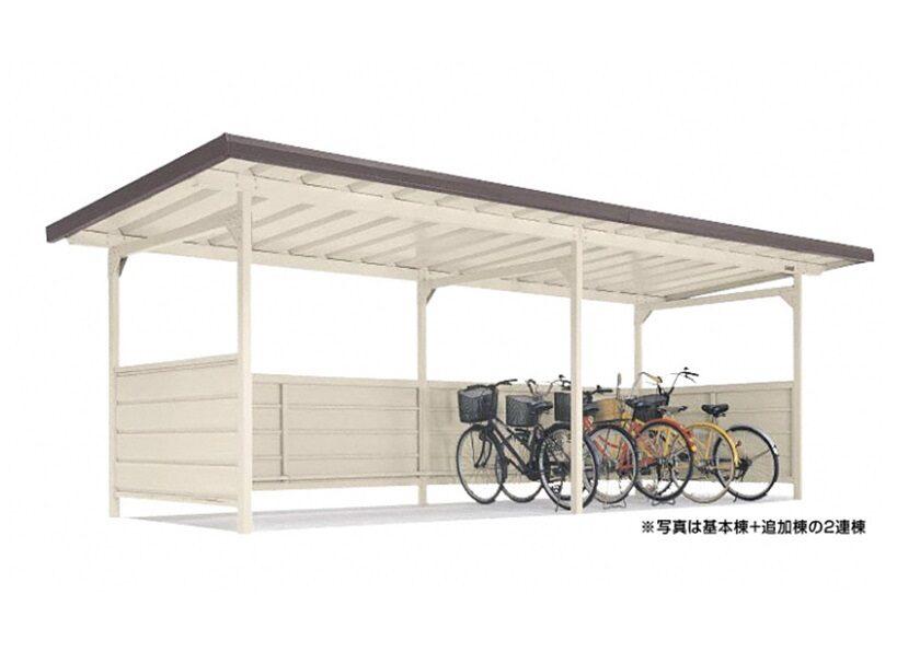 YOKCタイプ 連棟 一般地用 ヨドコウ ヨド自転車置場