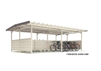 YOKCSタイプ 棟合せ型 連棟 積雪地用 ヨドコウ ヨド自転車置場