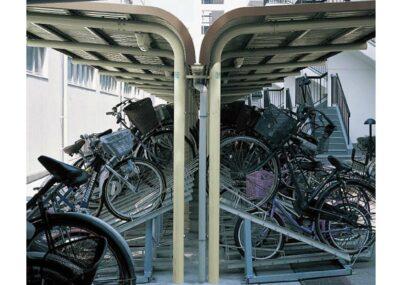 YOCF背合せタイプ 連棟 一般地用 ヨドコウ ヨド自転車置場