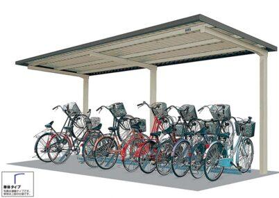 タクボ 自転車置場 SP10C 基本棟