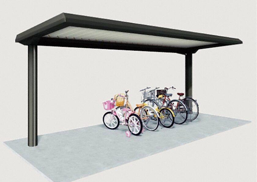 YOPタイプ 基本棟 一般地用 ヨドコウ ヨド自転車置場