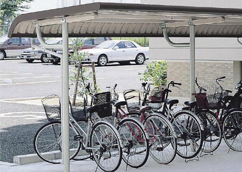 YOTRタイプ 基本棟 一般地用 ヨドコウ ヨド自転車置場