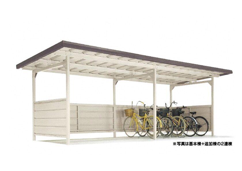 YOKCタイプ 連棟 積雪型 ヨドコウ ヨド自転車置場
