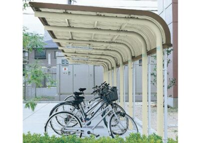 YOCFタイプ 連棟 一般地用 ヨドコウ ヨド自転車置場