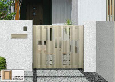 J.モダン1型 片開き 三協アルミ
